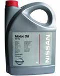 Оригинальное моторное масло Nissan 5W-40 SM/CF 5л