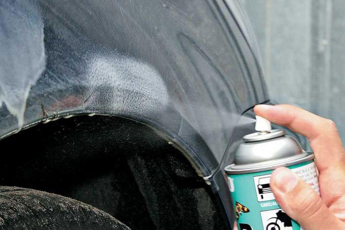 Как очистить пятна краски с автомобиля фото