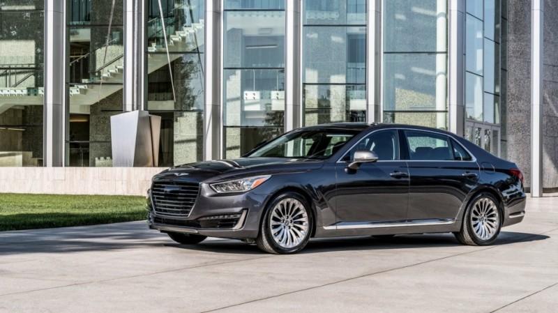 автомобили Genesis Kia и Hyundai признали самыми надежными в сша
